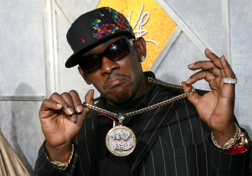 """HOLLYWOOD - AUGUST 07: Rapper Petey Pablo arrives at the Touchstone Pictures premiere of """"Step Up"""" held at Arclight Cinemas on August 7, 2006 in Hollywood, California. (Photo by Michael Buckner/Getty Images)"""