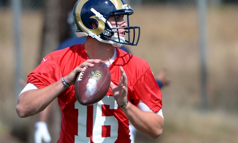 NFL: Los Angeles Rams-Rookie Minicamp