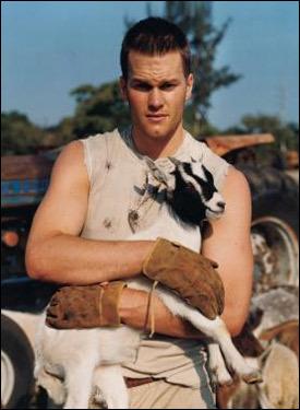 Brady and a Goat