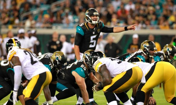 NFL: Preseason-Pittsburgh Steelers at Jacksonville Jaguars