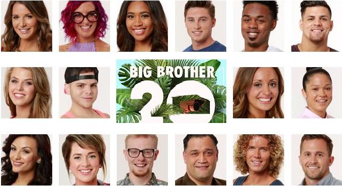 Big-Brother-20-Cast